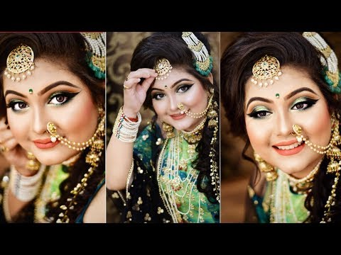 || BRIDAL MAKE UP || MAKE UP DONE BY MUA TANIA SARKAR PAUL || CLASS DEMONSTRATION ||