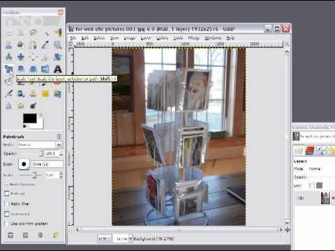 Easily Resize Images Using Gimp