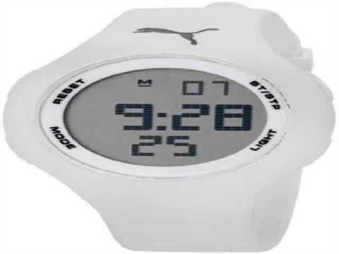 PUMA Unisex PU910801010 Loop White Digital Watch  Review