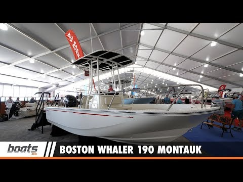 Boston Whaler 190 Montauk: First Look Video