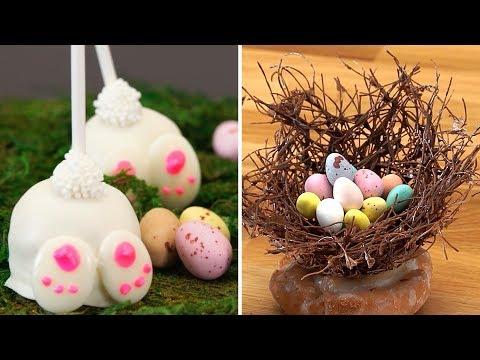 8 Easy Dessert Recipes for Easter | Animal Cake Pops | Homemade Cake Decorating Ideas