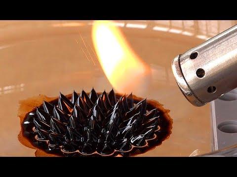 BURN IT! | Ferrofluid vs. Ferripaste