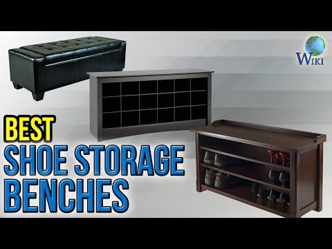 10 Best Shoe Storage Benches 2017
