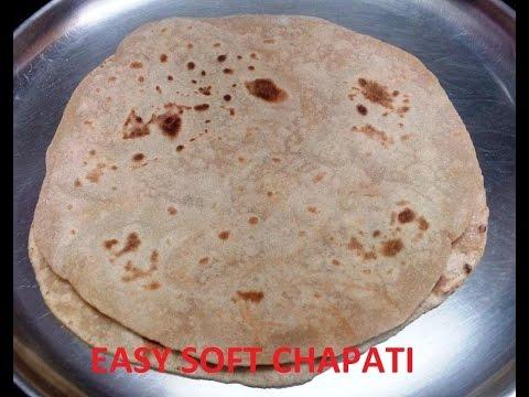 Easiest way to make soft chapati (Malayalam)