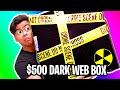 UNBOXING A 500 Dark Web Mystery Box