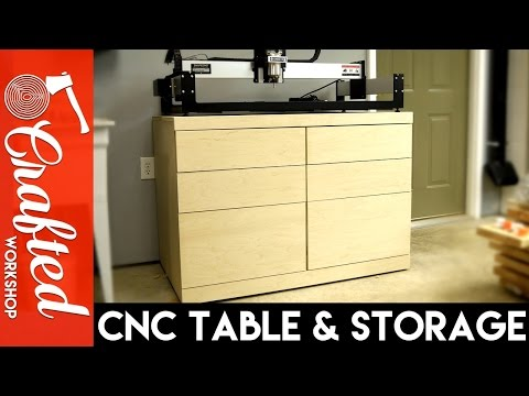 DIY CNC Table & Tool Storage Cabinet   How-To Build