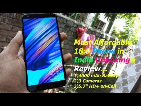 Infocus Vision 3 Unboxing & First-Boot in Depth I Most Affordable Phone Under 7000/-