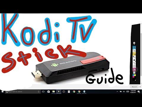 KODI TV 2017 ~ TV STICK SETUP start to finish guide (HOW TO) diy-free-tv