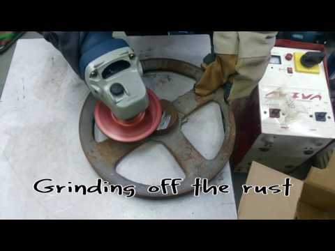 Using  angle grinder for cutting,grinding,polishing,metal,wood (beginners)