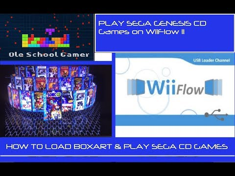 How to install and play the Sega CD emulator on Wii with Box art / covers for WiiFlow