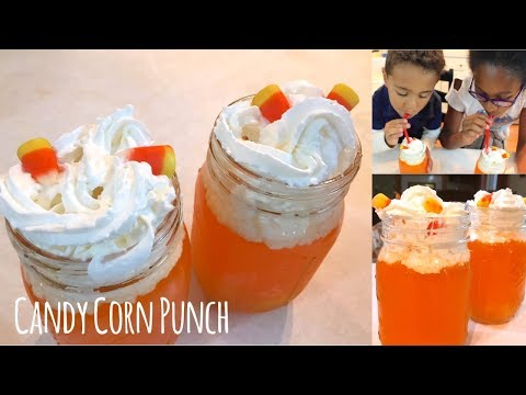 How To Make Candy Corn Punch: Easy Kid Friendly Halloween Recipe