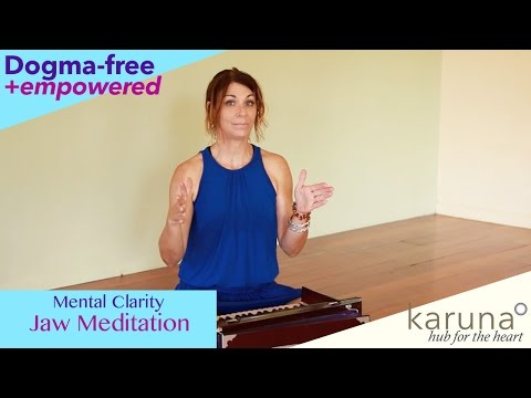 Meditation to Alleviate Jaw Tension & Teeth Clenching • Speak Your Truth!