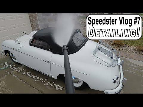 Speedster Vlog #7 - Bath and FULL Detail!