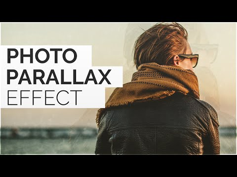 How To Make Parallax Photo Effect In Photoshop