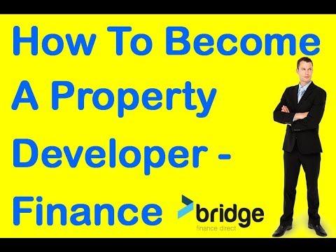 How To Become A Property Developer - property developer Finance
