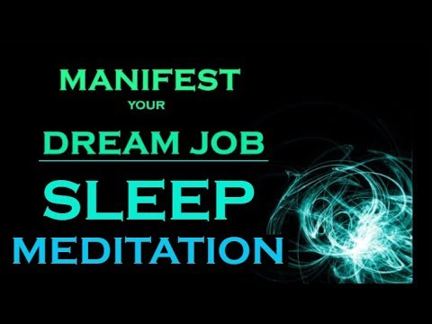 MANIFEST Your DREAM JOB ~ While You Sleep ~