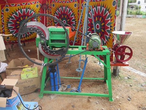 Milking machine and chaffcutter for small farmers