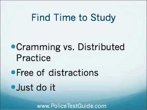 10 Tips to Passing the Police Officer Test