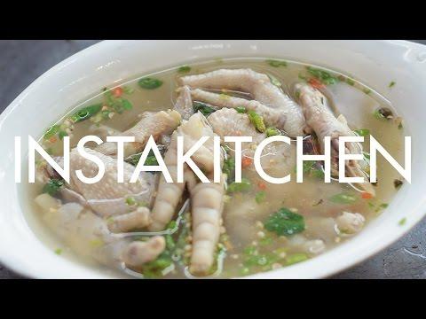 Chicken Feet Soup | Instakitchen Bangkok E9 | Coconuts TV