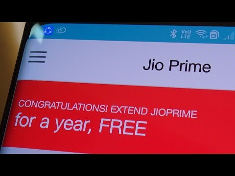Now get 1 Year free Jio Prime Membership only for Jio Prime Members