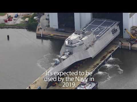 A first glimpse at the future USS Cincinnati