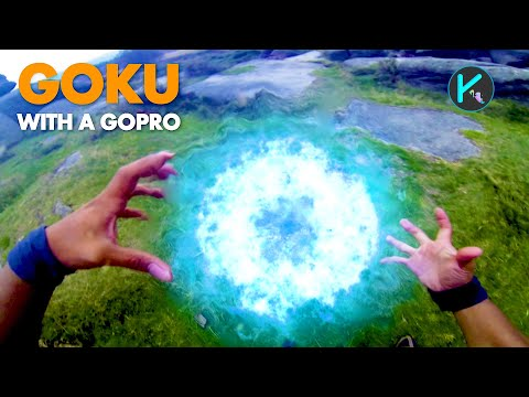 Goku with a GoPro (Real life DragonBall Z)