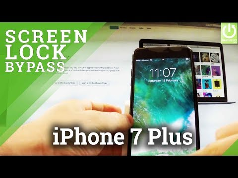 How to Hard Reset APPLE iPhone 7 Plus - Skip Passcode / Recovery Mode