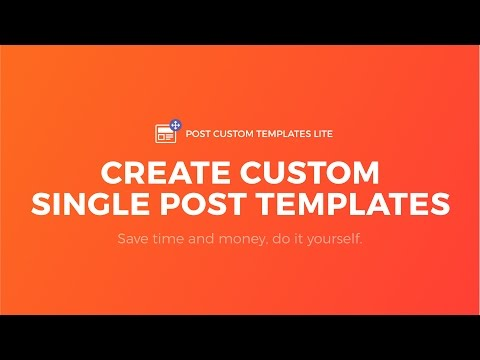 How to Create Single Post Templates in WordPress -  No code, Template Builder, Works on Any Theme
