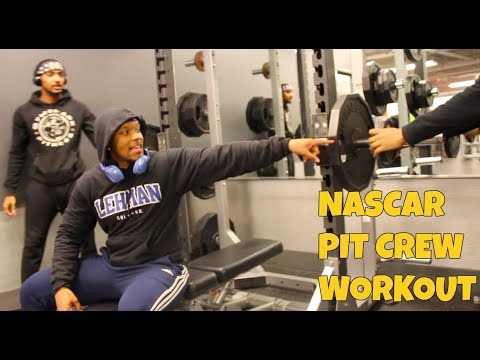 Nascar Pit Crew Workout 😂