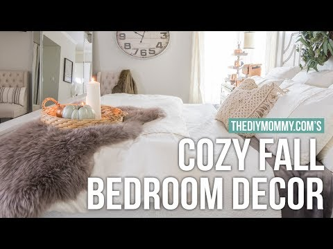 HOW TO MAKE YOUR ROOM COZY FOR FALL! | The DIY Mommy