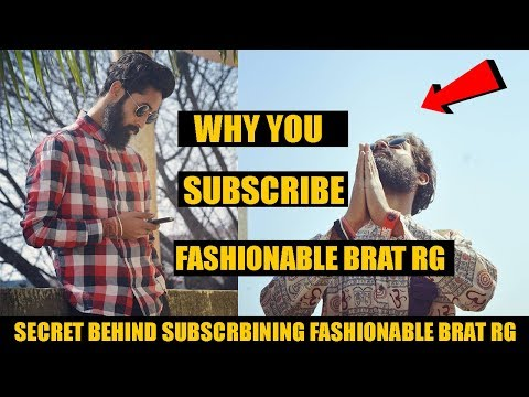 Welcome to Fashionable Brat Rg Please Subscribe | Youtube Official Channel | Why You Subscribe