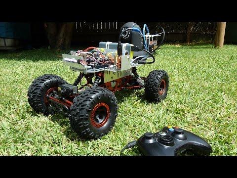 Arduino + C# RC Car with FPV Camera