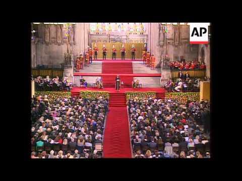 UK - Mandela Addresses British Parliament