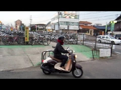 Scooters in Japan!