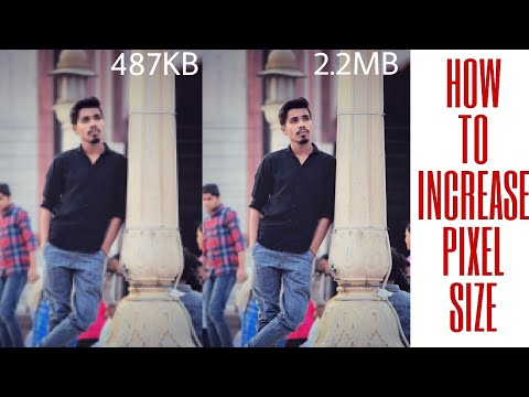How to increase pixels on any photo hd quality