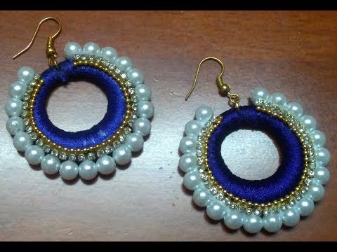 Pearl Earrings || Fashionable Pearl Earrings Design || Designer Fancy earrings at home