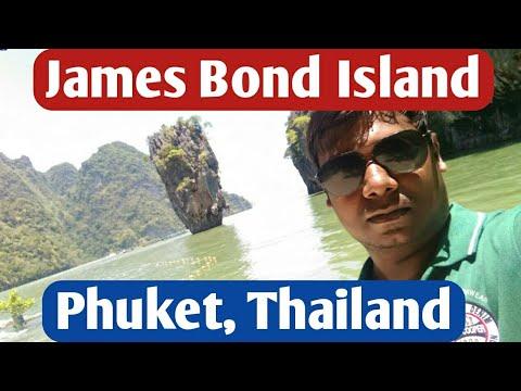 Wonderful James Bond Island, Phuket, Thailand