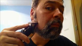 Shaving- Turning a Beard into a Goatee!!