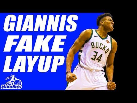 Greek Freak FAKE Layup! STUNNING Basketball Move To SCORE! Giannis Antetokounmpo