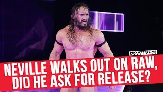 Neville Walked Out Prior To Raw, Did He Ask For His Release?