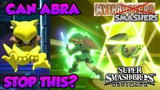 Can Abra TELEPORT Fighters Out of Final Smashes?! - Mythsmashers #9 (Smash Ultimate)