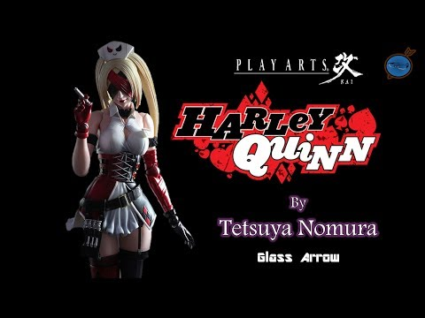 Play Arts Kai: Harley Quinn by Tetsuya Nomura Figure REVIEW