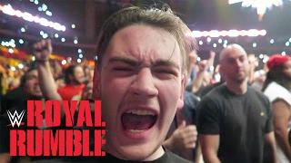 WWE Royal Rumble 2017 ROW 3 (San Antonio, TX) | Brandon Hodge Vlog #43
