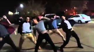 DhoomBros dancing in the car park