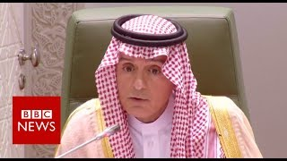 Saudi minister: Khashoggi killers did rogue operation - BBC News