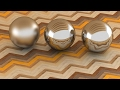 3ds Max Vray Realistic Steel - Chrome Polish - Chrome Satin Material