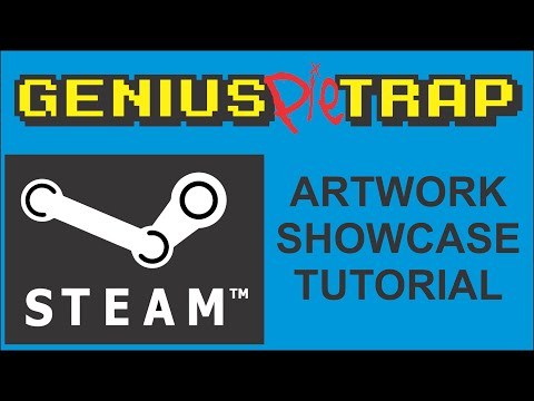 Steam Artwork Showcase Tutorial