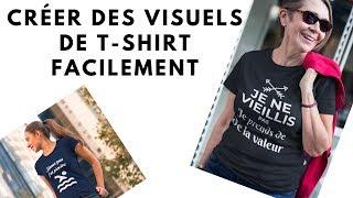 Test Du Service En Ligne Placeit.net - Mockup De T-shirt