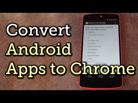 Convert Android Apps into Chrome Apps for Your Computer [How-To]