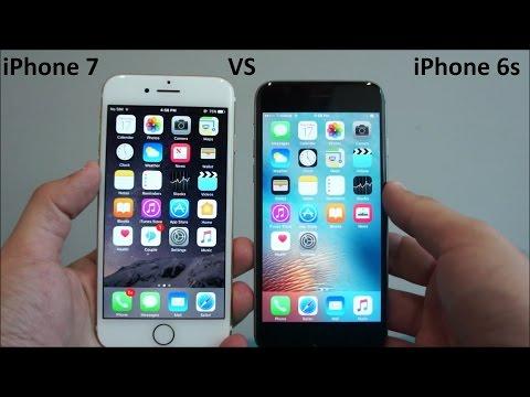 Apple iPhone 7 vs iPhone 6s Comparison